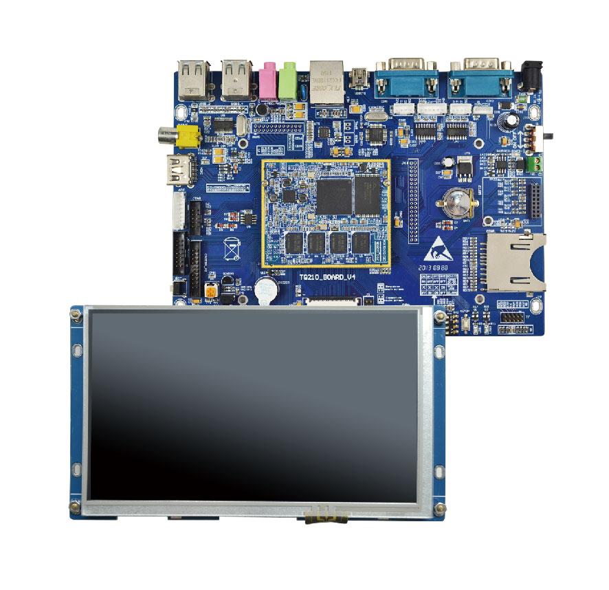 关于三星系列TQ210v4开发板套装的相关信息