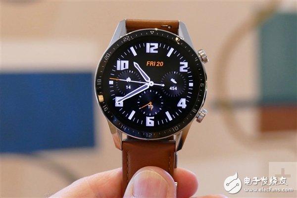 华为WatchGT2 46mm首销线上1分钟销售额破亿