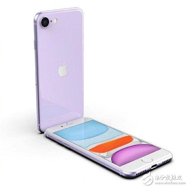 苹果iPhone SE2外观设计神似iPhone 8,背后采用凸起单摄像头