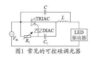 基于一种可控硅调光的LED驱动电源电路设计