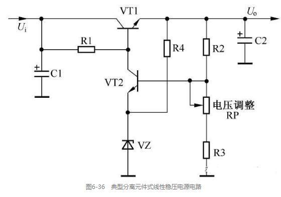线性稳压电源电路识图技巧