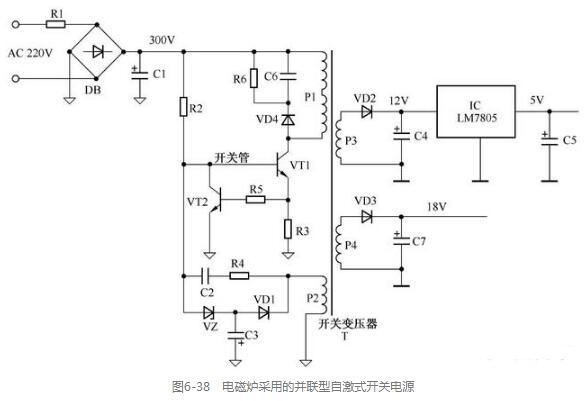 两列典型的开关电源电路分析