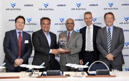 奥斯特拉尔航空将成为印度洋地区首家A220运营商