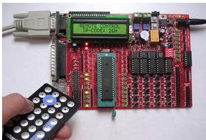 基于51单片机的红外线遥控器解码程序设计