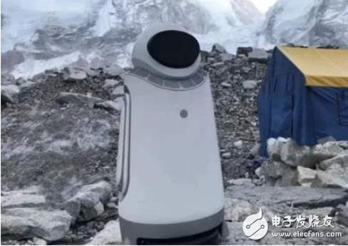 中国自主研发的机器人首次成功登顶珠峰