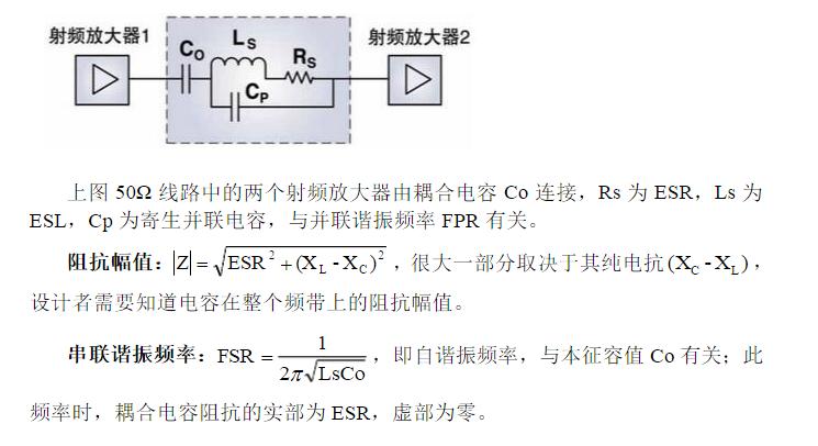耦合與隔直電容的選取