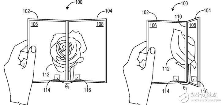 微软新专利展示Surface Duo部分细节,确认两块屏的相对方向