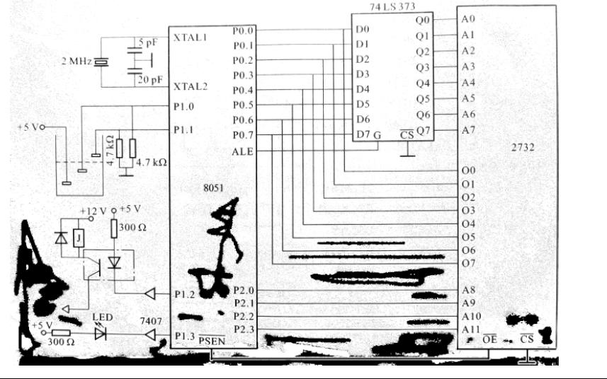 如何使用AT89C51单片机设计与实现对水塔水位控制详细资料说明