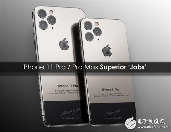 苹果iPhone 11 Pro/Max传奇人物特别定制版最低价格超4万人民币