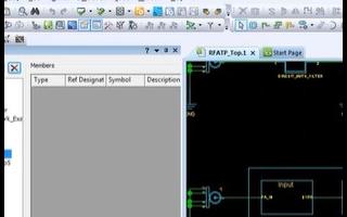 支持参数驱动射频元件和智能射频电路定位的射频设计工具