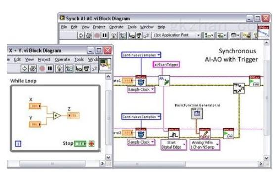 Labview的异步调用示例工程文件免费下载