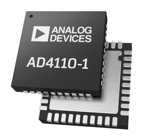 ADI推出集成24位ADC的AD4110-1模擬前端