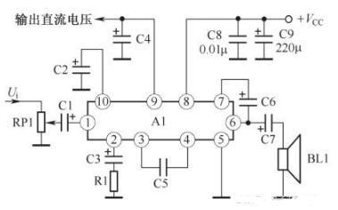 两列OTL功率放大器电路分析
