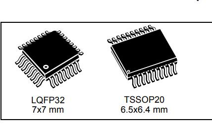 STM8S003F3和STM8S003K3微控制器的数据手册免费下载