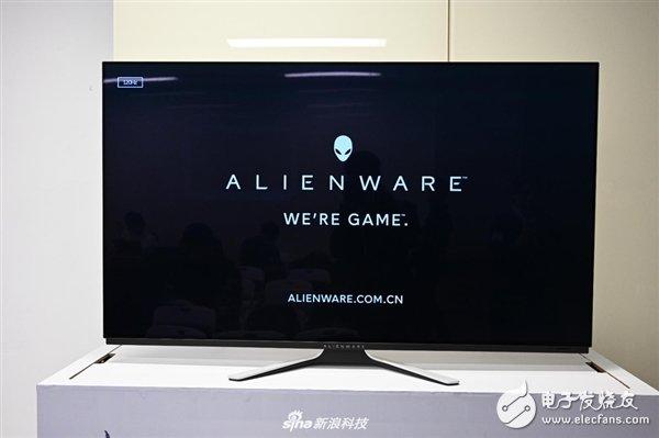 AlIENWARE发布一款54.6英寸OLED游戏显示器 定价34999元