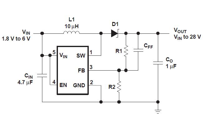 TPS61040和TPS61041低功耗DCDC升压变换器的数据手册免费下载