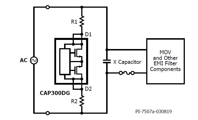 CAPZero-3 IC内部结构图。