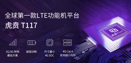 紫光展锐∴推出了首款虎贲T117平台将帮助运营商加...