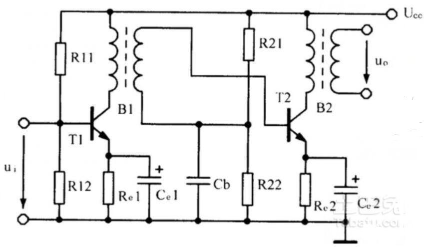 音频变压器电路图