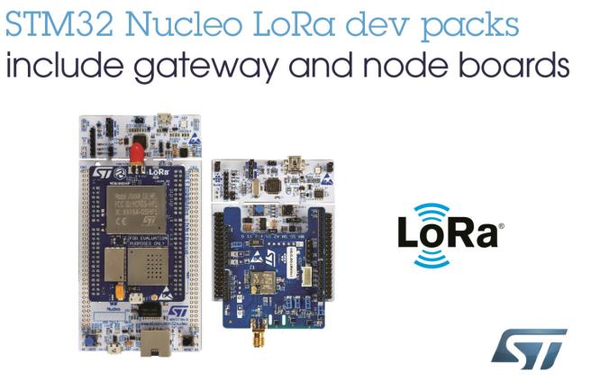 意法半導體推出兩款即用型LoRa開發包,加快物聯網項目技術開發