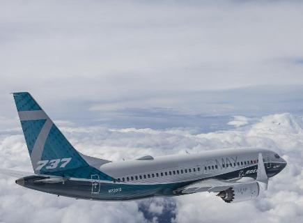 波音737MAX 7测试机已经正式开始进行了测试飞行