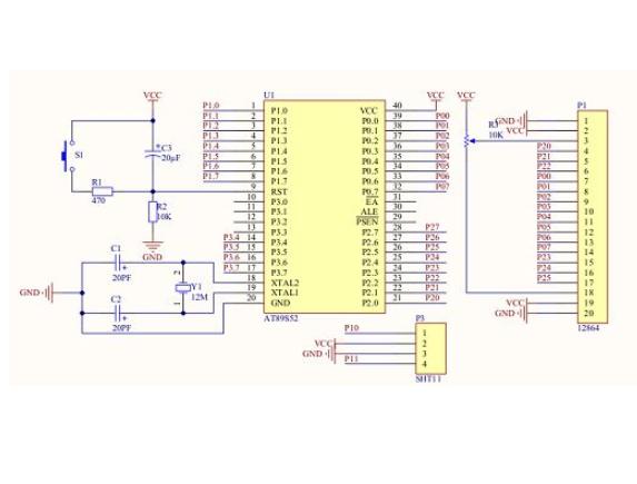 使用51单片机实现DHT11温湿度检测的代码程序免费下载
