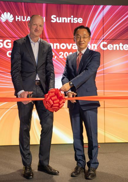 Sunrise携手华为将助力瑞士打造5G生态