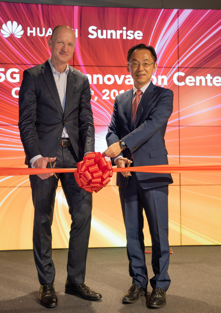 Sunrise攜手華為將助力瑞士打造5G生態
