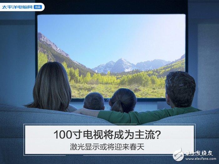电视机大尺寸化将会是未来趋势,激光显示或将迎来春天