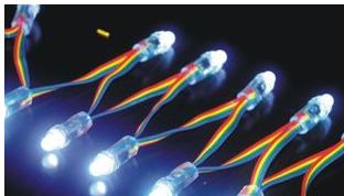 如何排布LED灯可以实现三种基本色