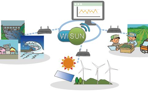 濎通芯与海兴建置Wi-SUN通信物联网达1000个节点