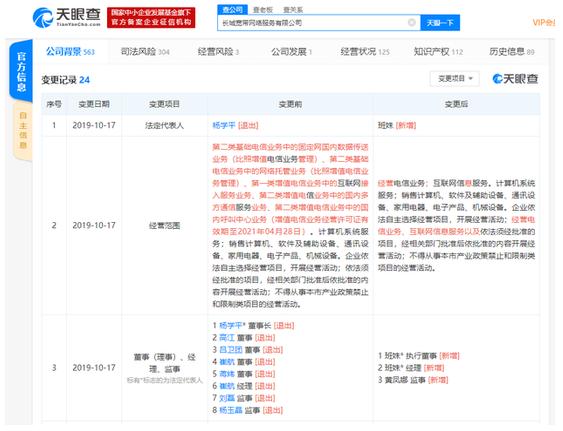 长城宽带网络服务有限公司的运营情况分析