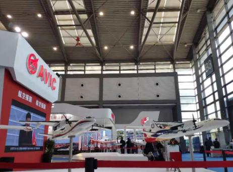 新舟多款飞机正式亮相西安航展