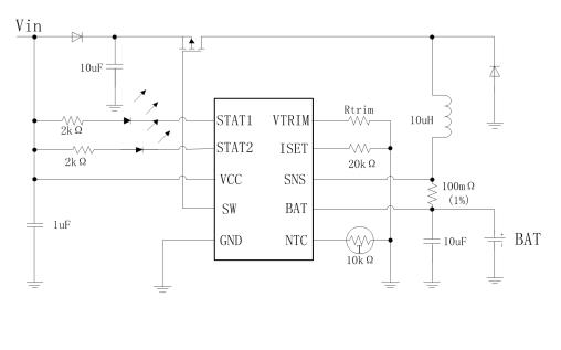 HB6290开关型锂电池铅酸电池充电管理芯片的数据手册免费下载