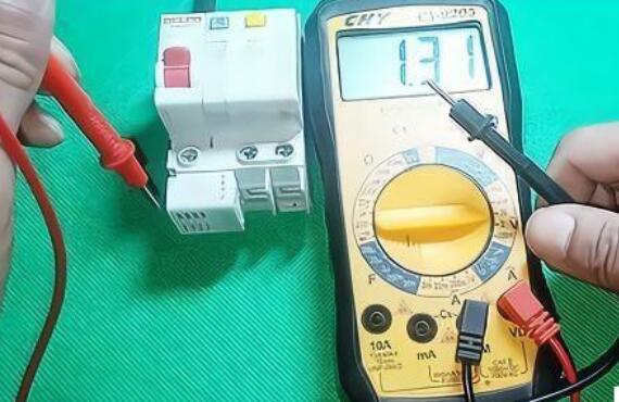 万用表怎么区分火线和零线