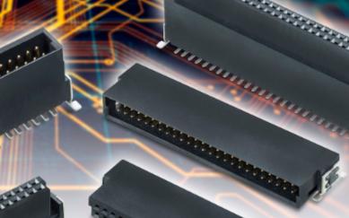 高密度板对板连接器可满足工业环境的严格要求