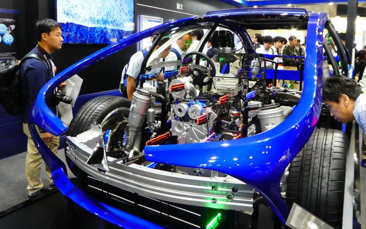 日本汽車零部件企業研發支出到2022年或翻一倍