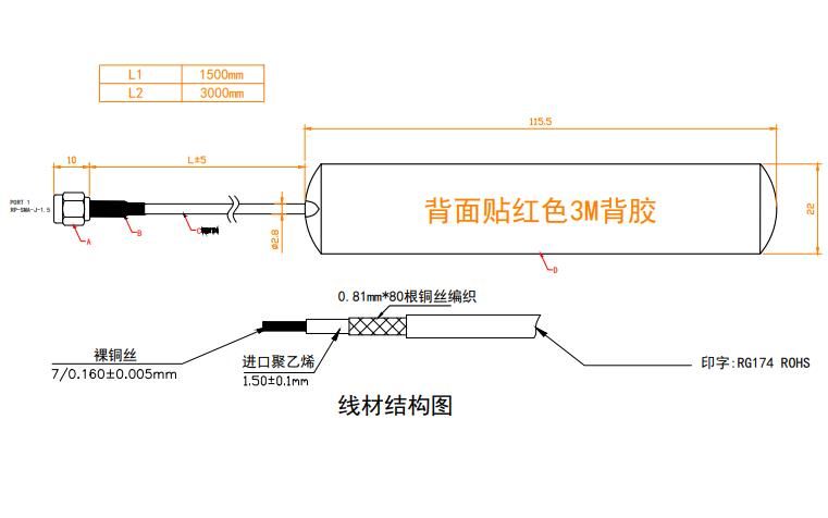 2.4和5.8G贴片天线规格原理图免费下载