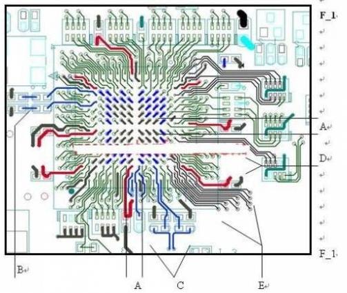 如何处理PCB上BGA芯片的零件走线