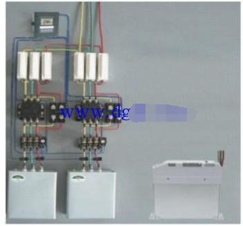 三相电机补偿电容怎么连接?
