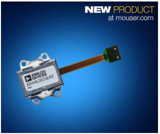 贸泽开售Analog Devices的ADcmXL3021 三轴振动传感器