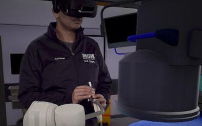 虚拟现实手术可以降低医生的辐射风险