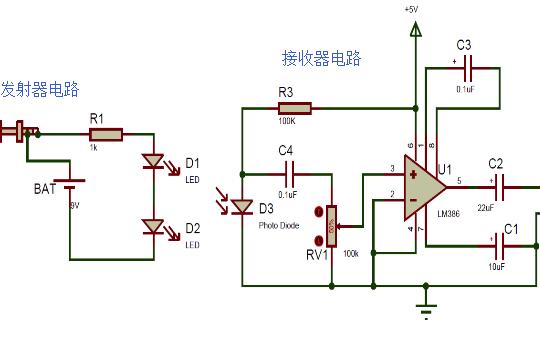電路中紅外如何傳遞音頻信號