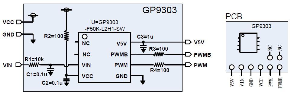 基于APC芯片和光耦隔离的模拟信号隔离模块GM1...