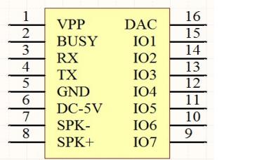 JQ8900-16P语音模块使用说明书免费下载