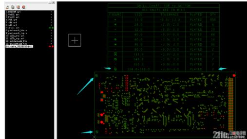 PCB打样设计时为什么需要输出Gerber无分孔图表