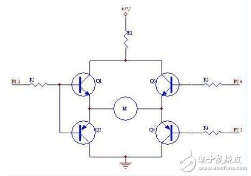 三种微型电机驱动电路分析