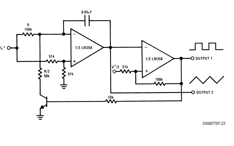 LM158系列低功耗双运算放大器的数据手册
