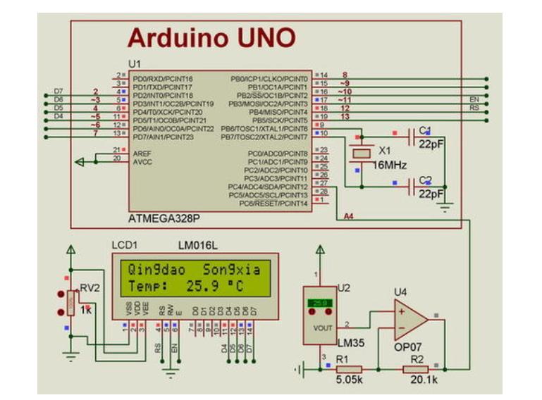 使用Arduino实现1602显示的测试源代码免费下载