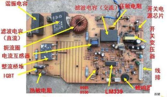 电磁炉烧保险管的原因分析